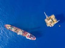 Glebowa Nudna łódź geotechnical musztrowanie cum analog ankiety naczynie fotografia stock