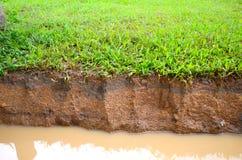 Glebowa warstwa Fotografia Stock