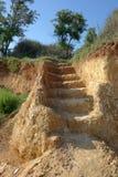 glebowi schodki obraz stock
