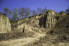 Glebowy słup Cudowny Fotografia Stock