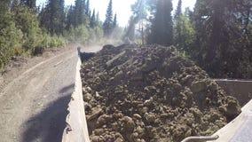 Glebowy transport, drogowe pracy zbiory wideo