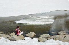 Gleczeru krajobraz Madriu-Perafita-Claror dolina Fotografia Stock