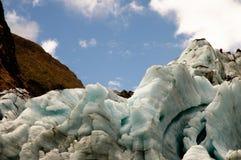 Gleczeru lód Obrazy Royalty Free