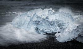 gleczeru lodu Fotografia Stock