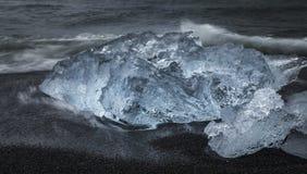 gleczeru lodu Obraz Royalty Free