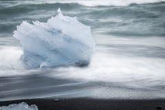 gleczeru lodu Zdjęcie Royalty Free