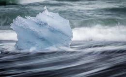 gleczeru lodu Fotografia Royalty Free