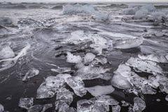 gleczeru lodu Obrazy Stock