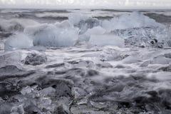 gleczeru lodu Zdjęcie Stock