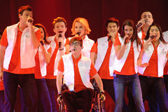 Glee Tour Stock Image