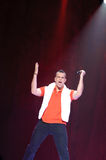 Glee Tour. Sacramento, CA - MAY 23: Mark Salling perform at the Glee Live! In Concert! tour at the Power Balance Pavilion on May 23, 2011 in Sacramento stock photo