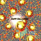 Gleeful Gourd Jolly Halloween pumpkin Royalty Free Stock Photography