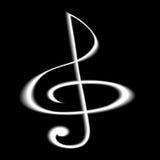 glef musikal Zdjęcie Royalty Free