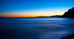 Gleich nach Sonnenuntergang Stockfotos