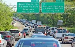 Gleichstrom-Verkehr stockbilder