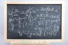 Gleichungen und Formeln Lizenzfreies Stockbild