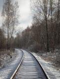 Gleis Lizenzfreies Stockbild