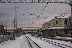 Gleis Stockfoto