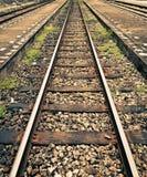 Gleis der Khuntan Station Lizenzfreies Stockfoto