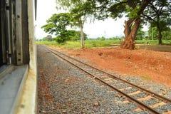 Gleis für Serie stockfoto