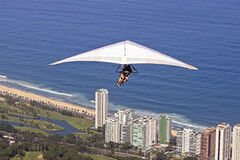 Gleitschirmfliegen in Rio de Janeiro Stockbilder