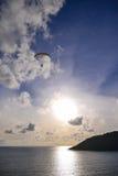 Gleitschirmfliegenextrem Sport Lizenzfreies Stockfoto