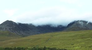 Glen εύθραυστος, νησί της Skye απόθεμα βίντεο