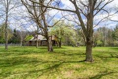 Glen Alton Farm —Caretaker's hus Arkivfoton
