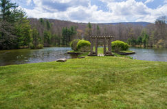 Glen Alton Farm – Reflecting Pond Royalty Free Stock Images