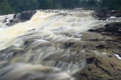 Glen Avon Falls i Minnesota Royaltyfria Foton