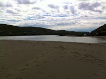 Glen beach estuary. Glencollumbecille, Co Donegal, Ireland Royalty Free Stock Image