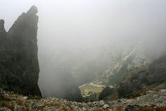 Glen. Beautiful and dangerous mountain glen Royalty Free Stock Photo