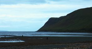 Glen Brittle Bay, île de Skye banque de vidéos