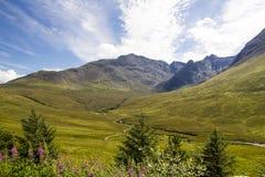 Glen Brittle, Eiland van Skye Stock Afbeelding