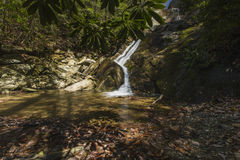 Glen Burney Trail, Blazende Rots, NC Royalty-vrije Stock Afbeelding