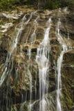 Glen Burney Trail, roccia di salto, NC Fotografie Stock