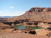 Glen Canyon Royalty Free Stock Image