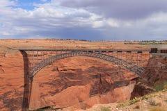 Glen Canyon Bridge Lizenzfreies Stockfoto