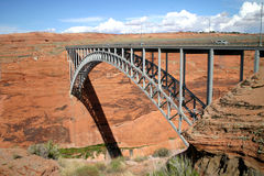 Glen Canyon Bridge stockfoto