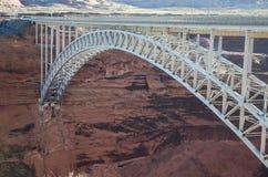 Glen Canyon Bridge in der Seite Arizona Lizenzfreie Stockbilder