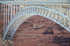 Glen Canyon Bridge in der Seite Arizona Lizenzfreies Stockbild