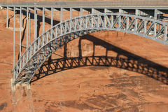 Glen Canyon Bridge, Utah Stock Photography