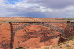 Glen Canyon bridge Royalty Free Stock Photo