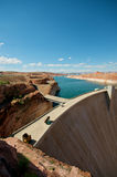 Glen Canyon Dam Royalty Free Stock Photos