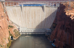 Glen Canyon Dam. On the Colorado River Royalty Free Stock Image