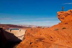 Glen Canyon Dam Royalty Free Stock Image