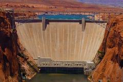 Glen Canyon Dam. At Lake Powell royalty free stock images
