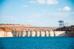 Glen Canyon Dam Image stock