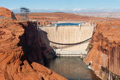 Glen Canyon Dam arkivbild