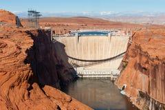 Glen Canyon Dam Photographie stock